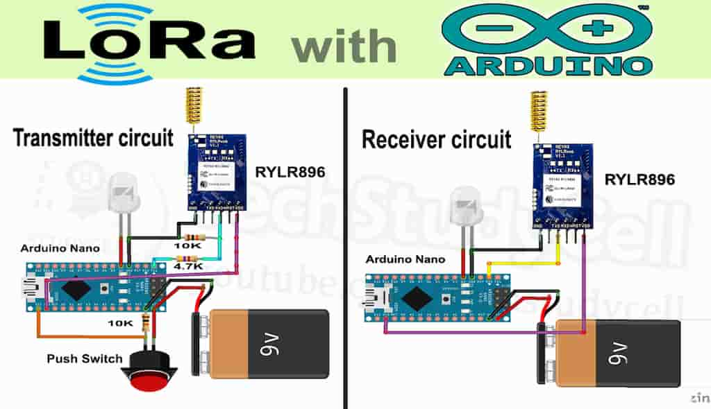 Arduino Lora Basic Project