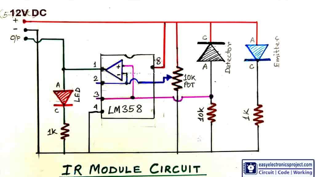 IR module circuit