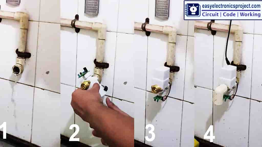 Automatic Tap fitting