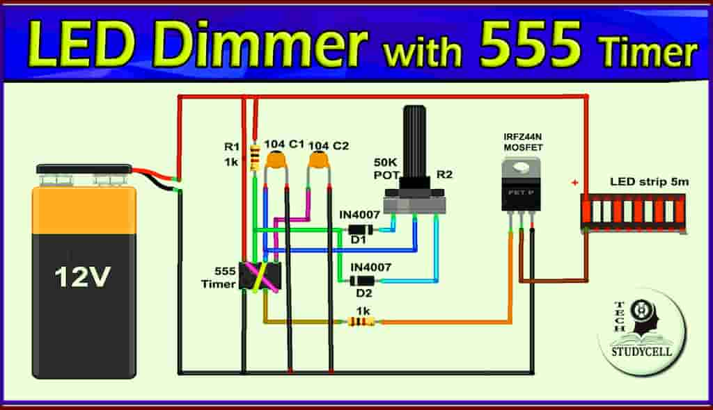 LED Dimmer 555 Timer cover pic