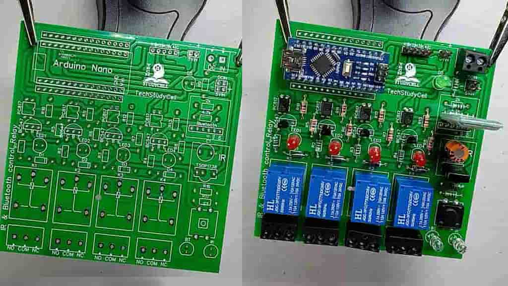 PCB for the Arduino Project