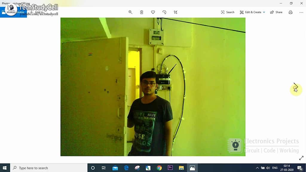 esp32cam PIR motion sensor camera pic 6