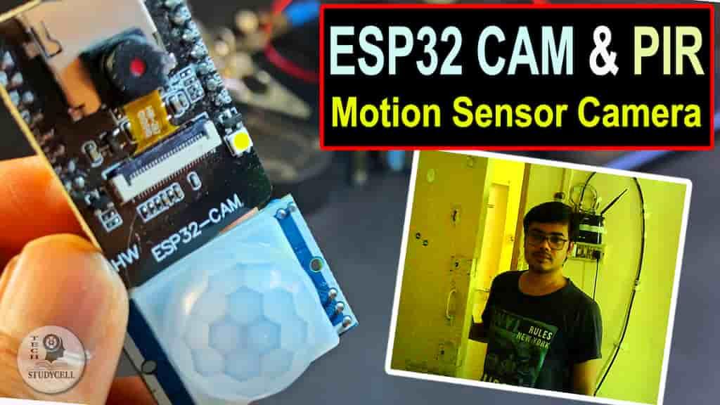 esp32cam PIR motion sensor camera
