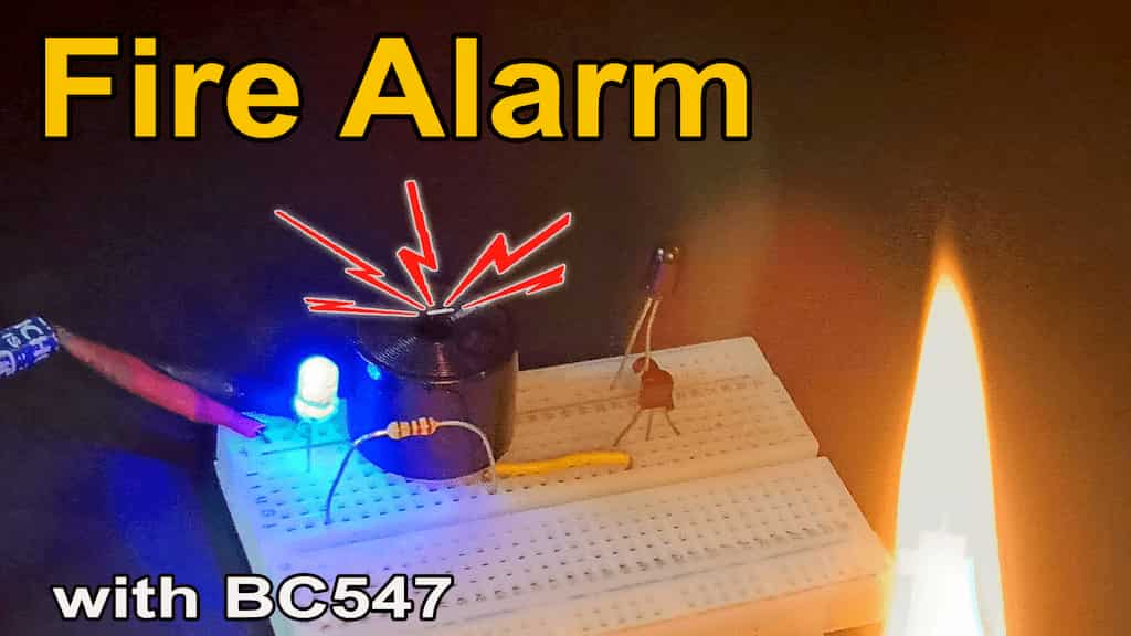 fire detector with BC547