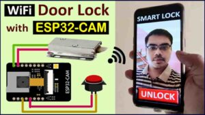 WiFi Door Lock using ESP32 CAM & Blynk App