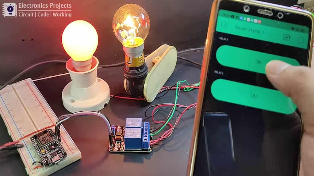 Home automation with NodeMCU and Blynk pic 5