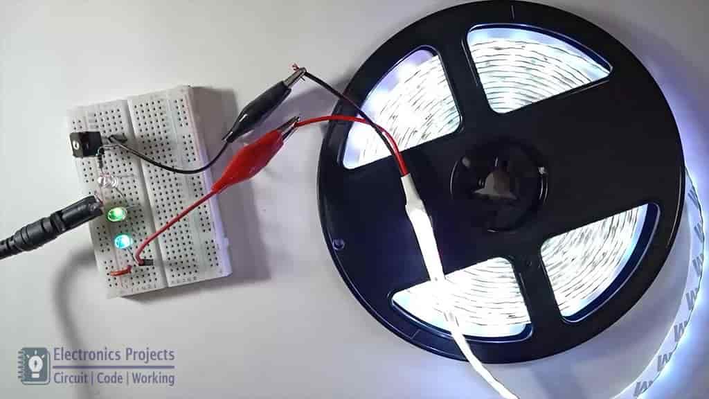 LED blinker with RGB LED