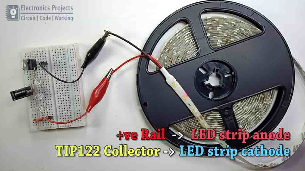 LED flasher with RGB LED