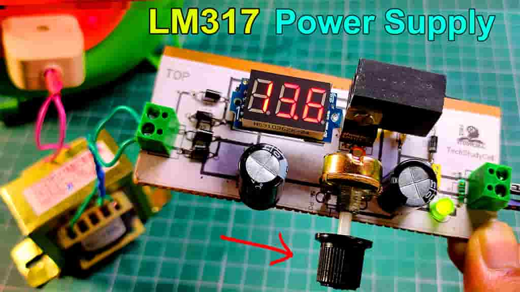 LM317 Voltage Regulator circuit thumbnail
