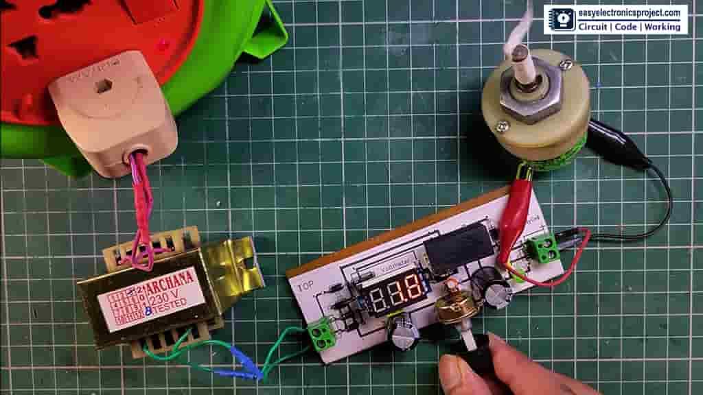Controlling motor speed