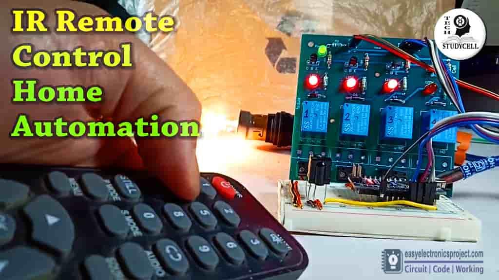 Arduino IR remote control relay