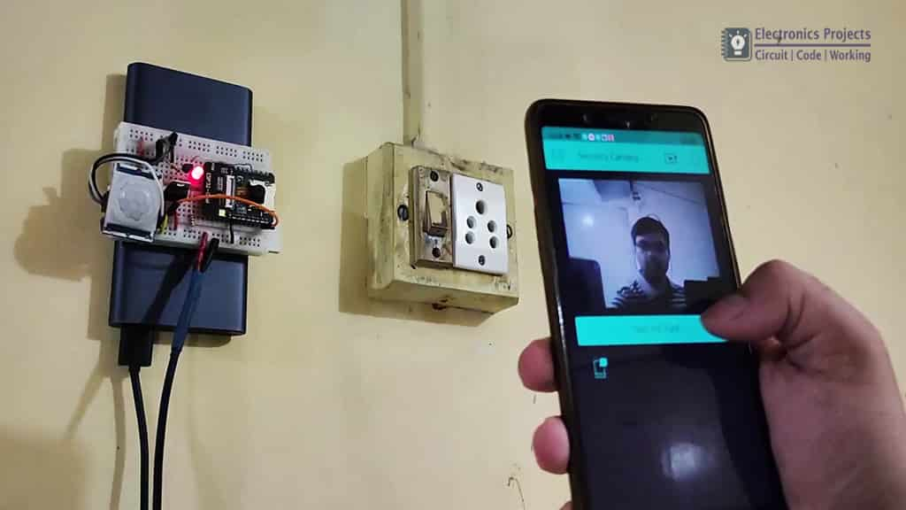 ESP32-CAM PIR Blynk Security Camera