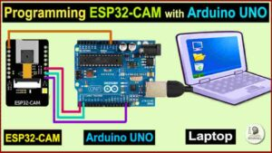 Program ESP32-CAM using Arduino UNO