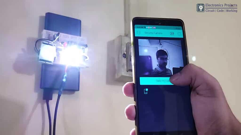 ESP32CAM PIR Blynk motion sensor Camera