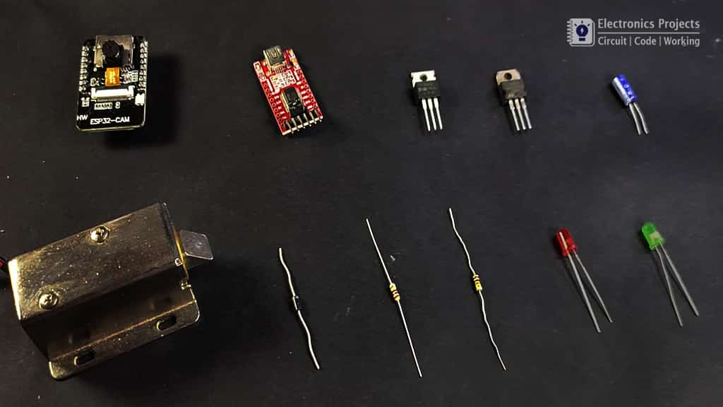 Face detection Door Lock Components