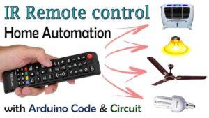Arduino IR Remote Control Relay Module