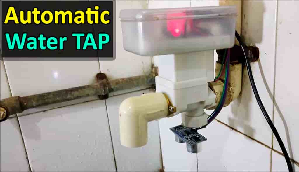 Automatic water tap cover pic