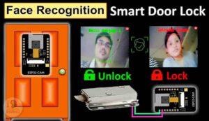 ESP32CAM Face Recognition Door Lock System
