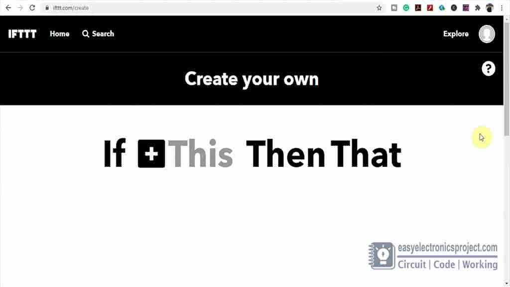 IFTTT platform