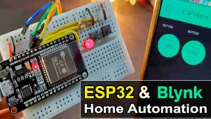 Read more about the article WiFi & Manual with Realtime Feedback ESP32 Home Automation project