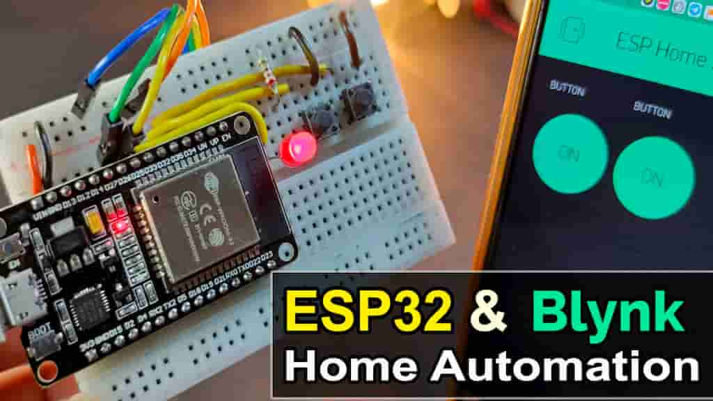 WiFi & Manual with Realtime Feedback ESP32 Home Automation project