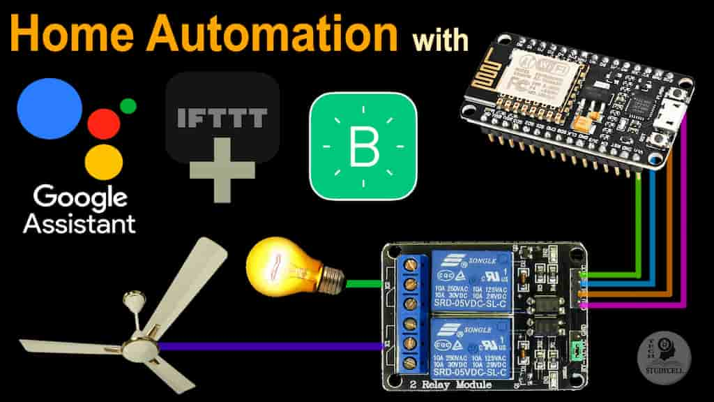 home automation google assistant cover pic