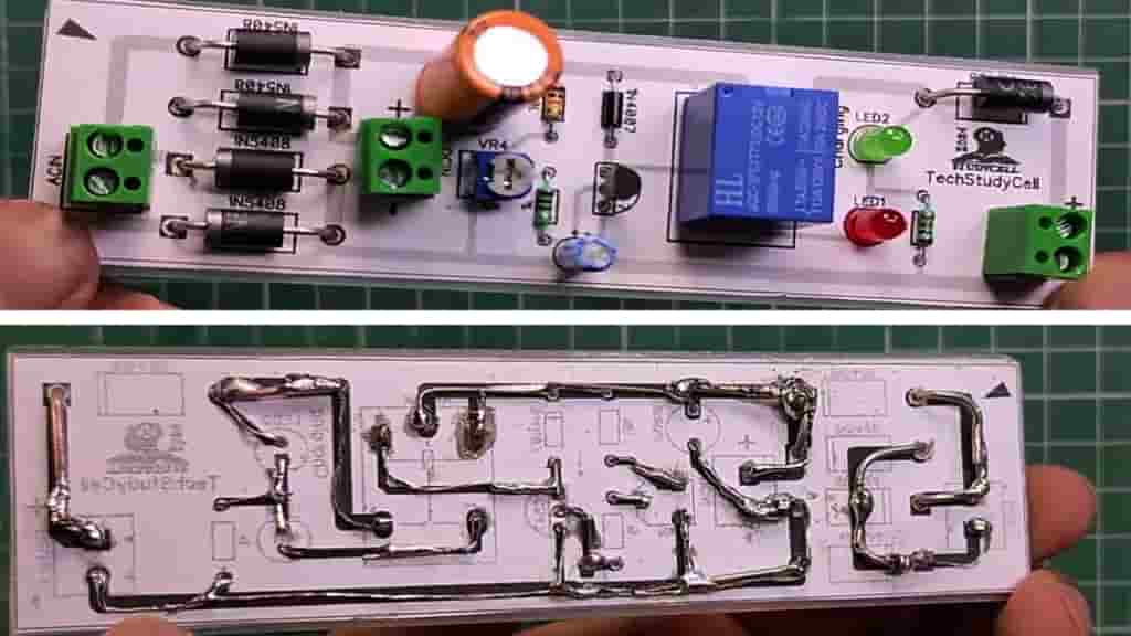 Auto Cut-Off Charger PCB