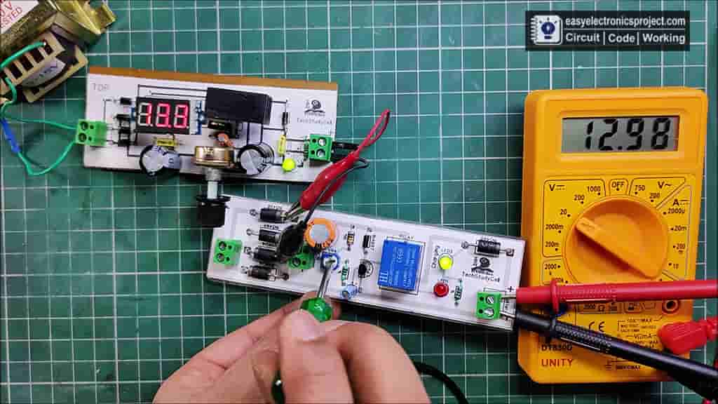 Setting the Cut-Off voltage