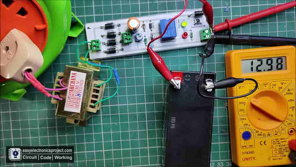 Auto cut off Battery Charger