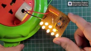 LED 220V AC circuit with Calculation