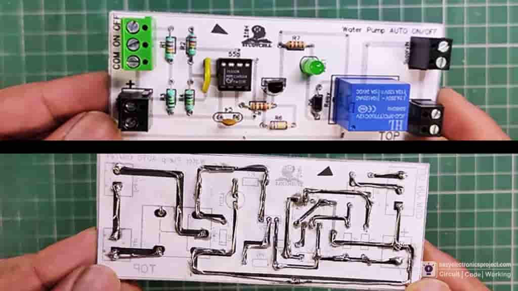 Water Pump Auto Switch PCB