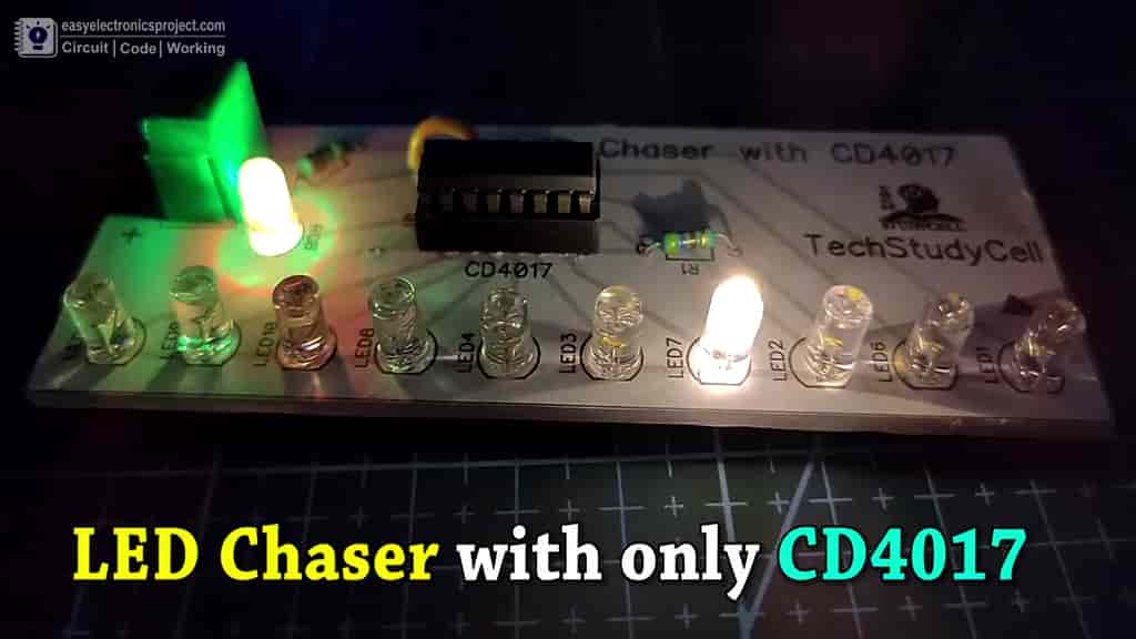 4017 LED Chaser cover pic