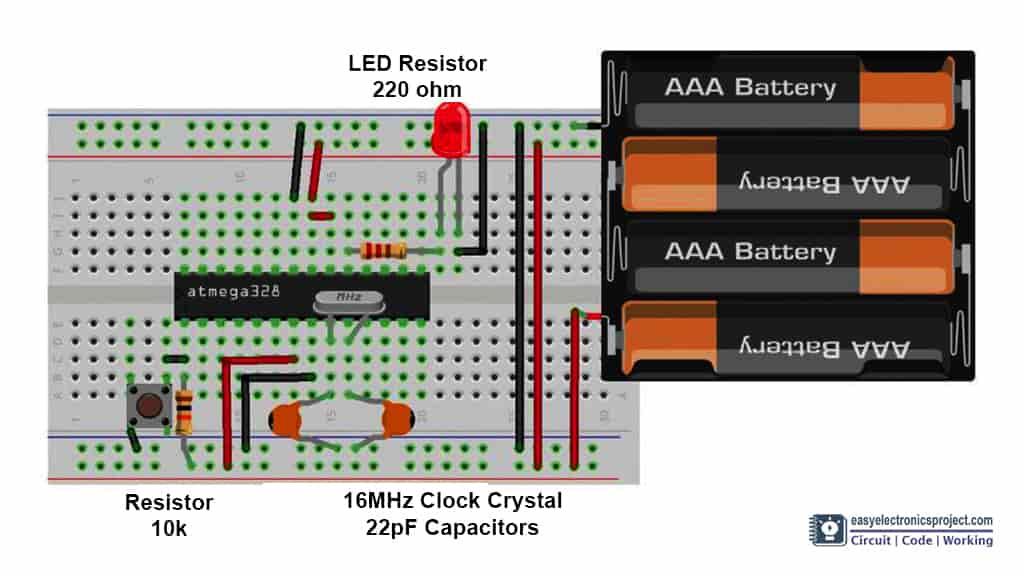 Atmega328P circuit