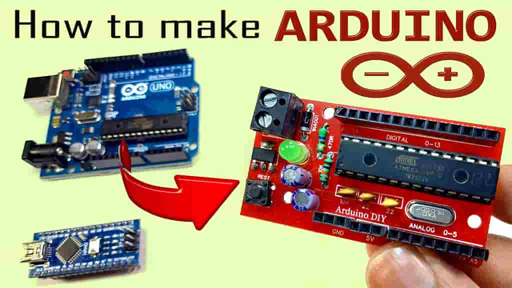Atmega328P without Arduino PCB Design