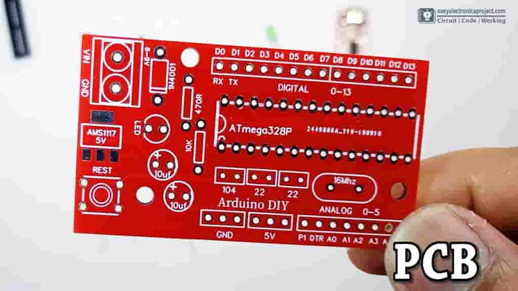 Atmega328P PCB design