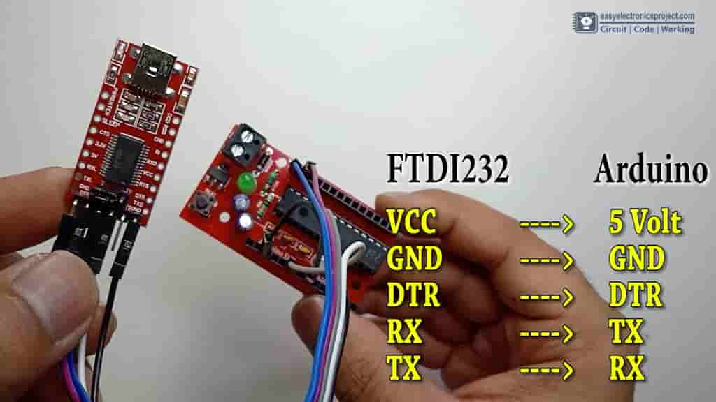 FTDI232 connections