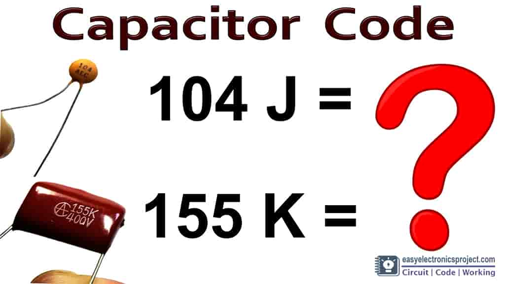 Capacitor Code Calculation with chart