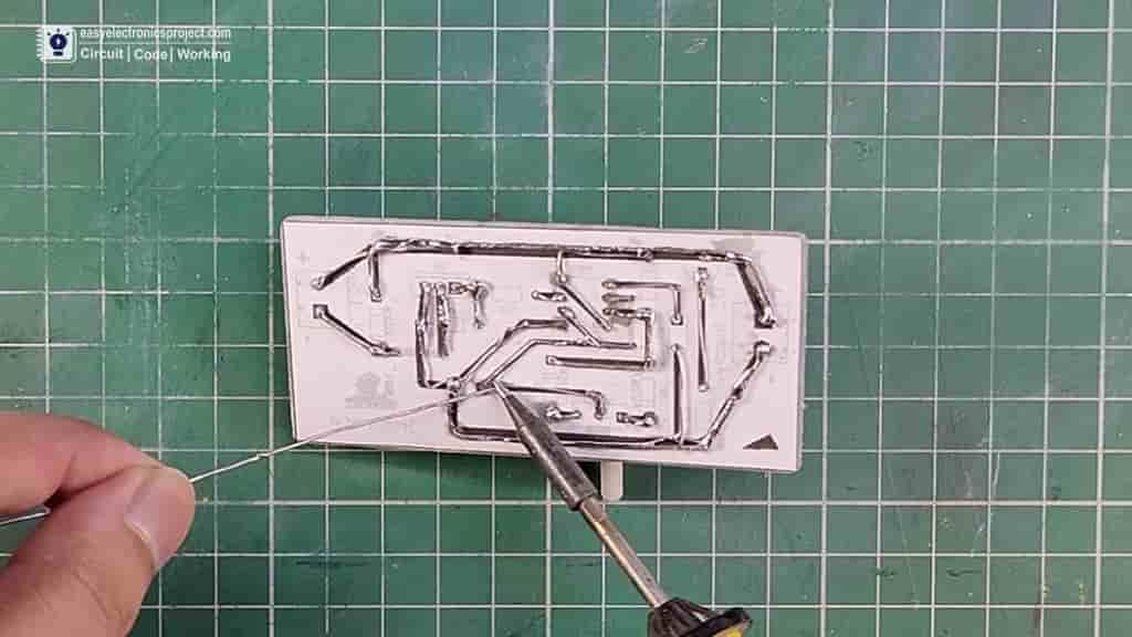 soldering components