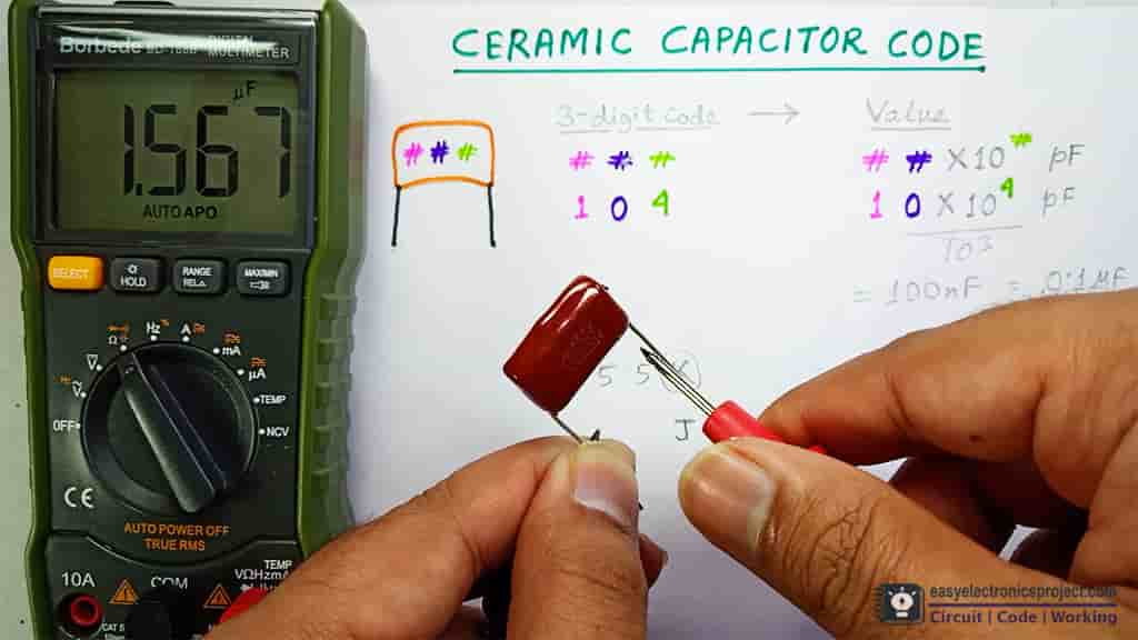 measure capacitance