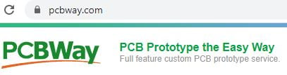 Step 1 to order from PCBWay