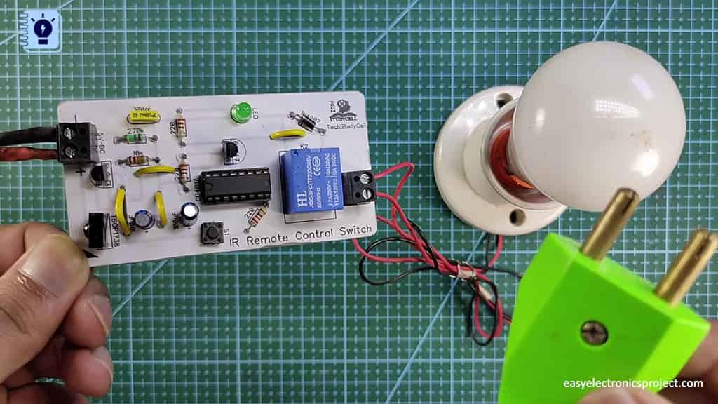 PCB for IR sensor Switch