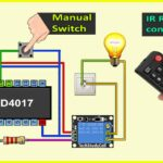 IR Sensor Switch with IC 4017 project