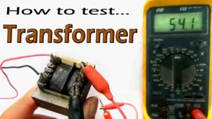 Read more about the article Transformer testing with Multimeter