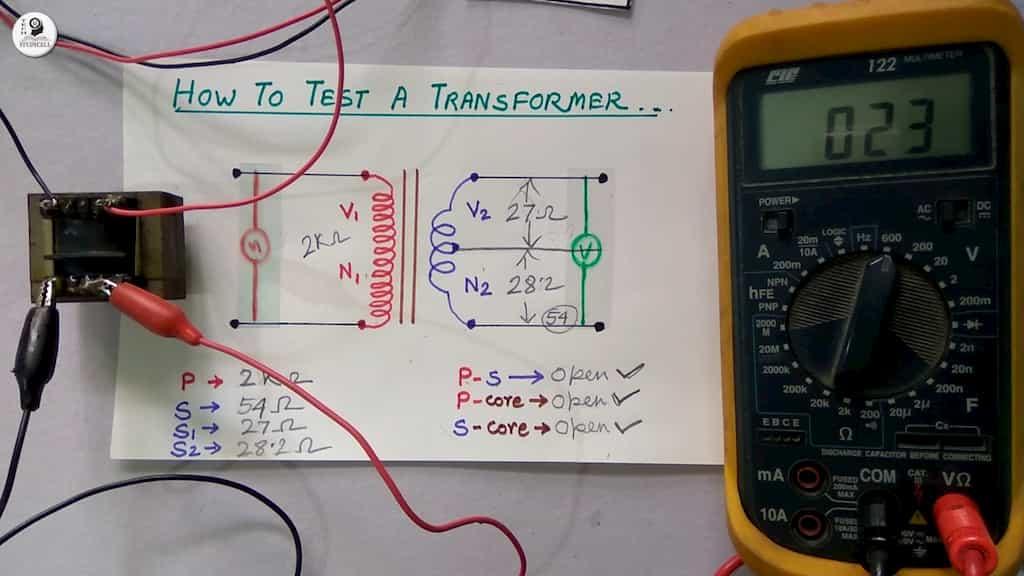 checking transformer