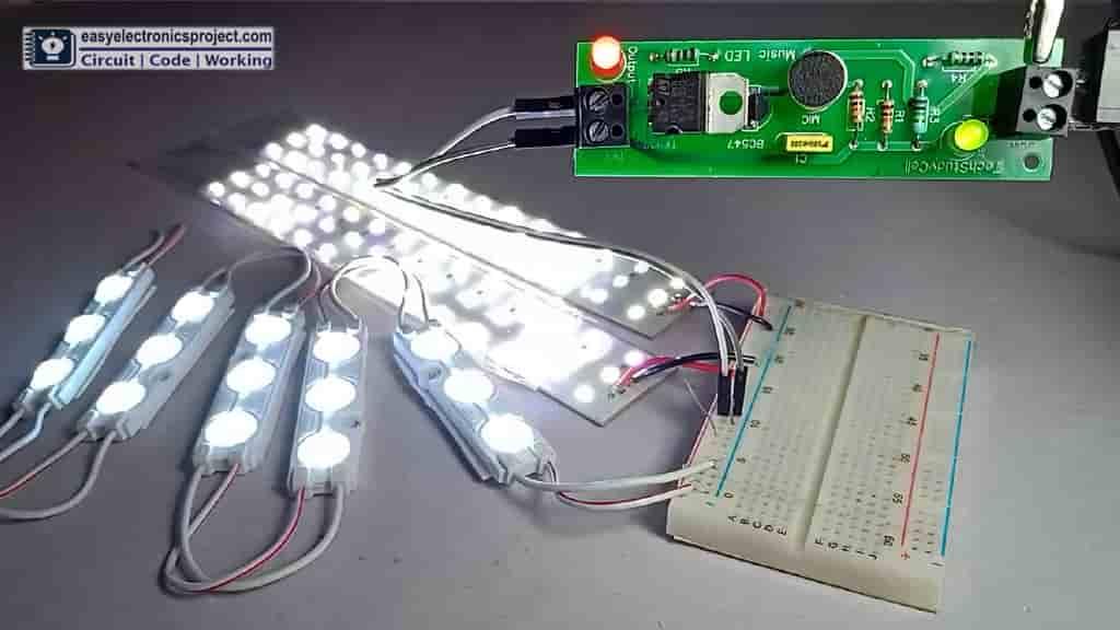 Music Rhythm LED Flashlight