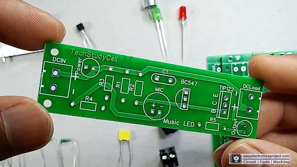 Music Rhythm LED PCB