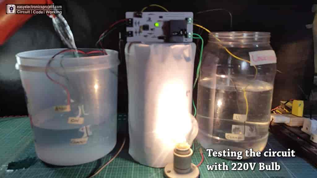 testing automatic pump controller