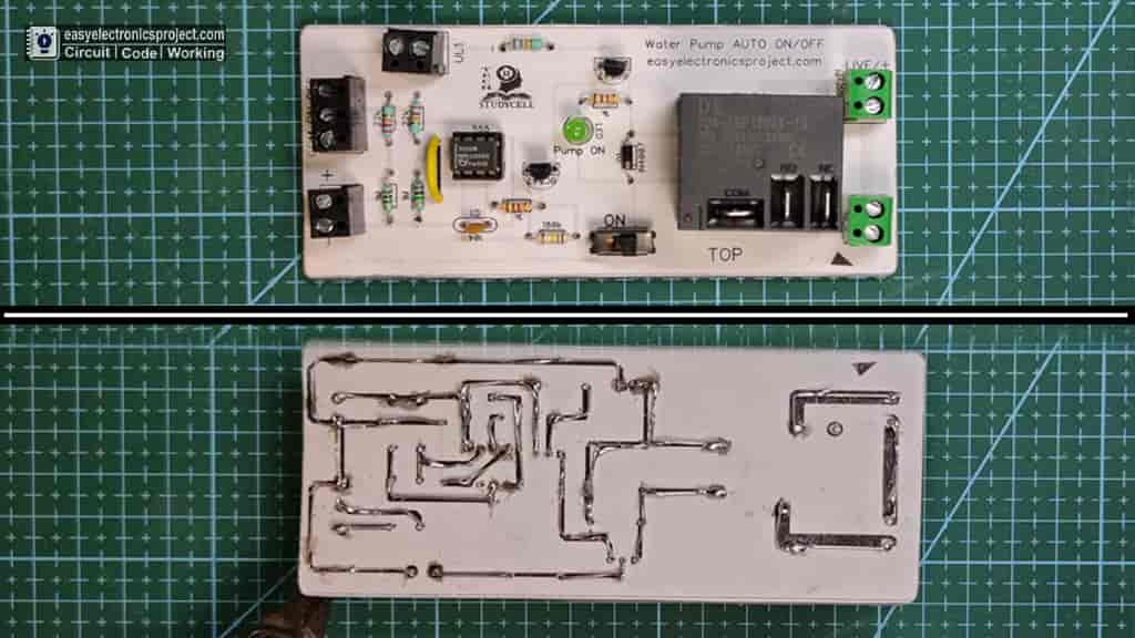 automatic pump controller PCB
