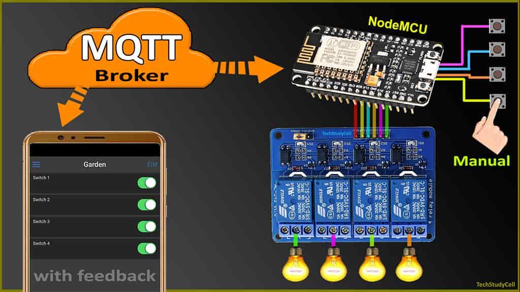 ESP8266 MQTT Home Automation