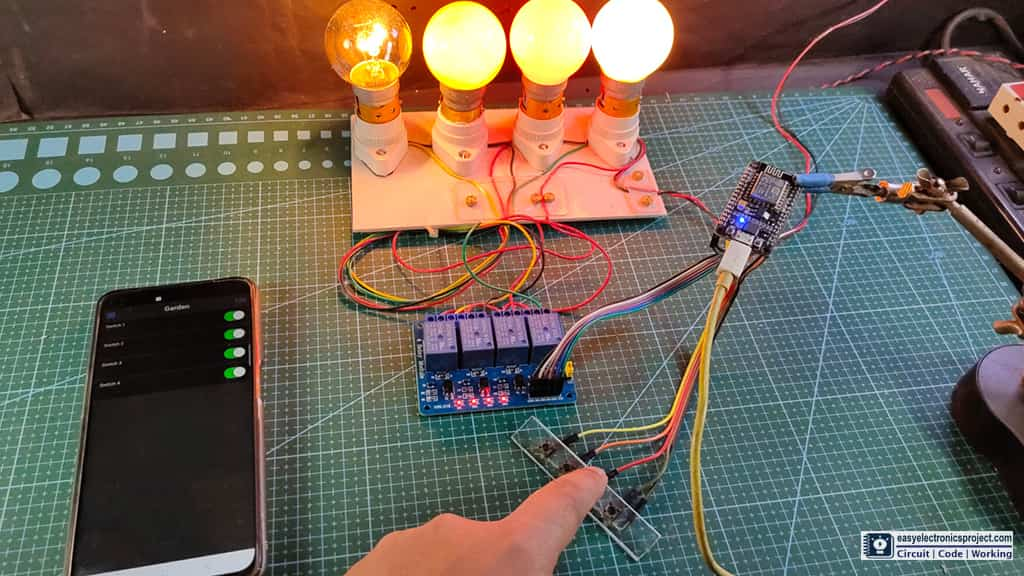 control relays manually